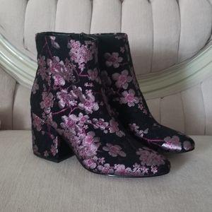 Sam Edelman Sakura Cherry Blossom boots